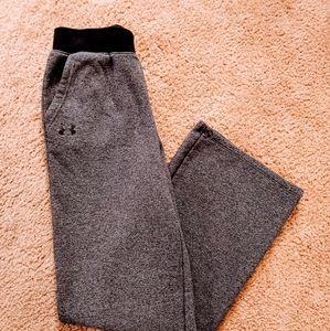 Under Armour Gray Fleece Lined Sweatpants Sz S
